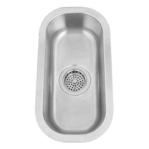 narrow kitchen sink 10 quot infinite narrow stainless steel undermount sink kitchen 1040