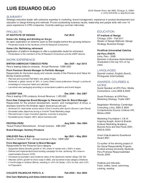 product design resumes s11 resume book
