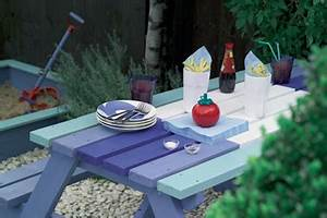 Refaire Son Jardin : repeindre son mobilier de jardin avec de belles couleurs i d co cool ~ Nature-et-papiers.com Idées de Décoration