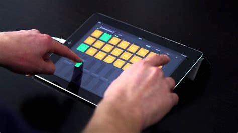 novation launchpad  ios ipad performance youtube