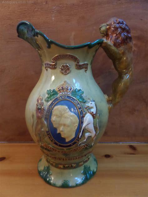 antiques atlas crown devon musical super jug  royal