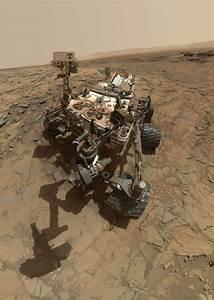 NASA's Curiosity Rover Takes Selfie on Mars