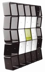 Etagere Cube Noir : etag re obo cube modulaire noir cerruti baleri made in design ~ Teatrodelosmanantiales.com Idées de Décoration