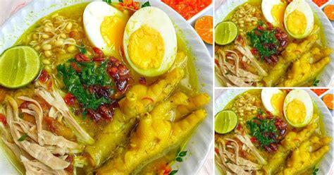 Resep soto ayam bening kuah kuning segar spesial nikmat untuk jualan. RESEP SOTO AYAM SEDERHANA NAN MANTAP 👍👍 - Resep Spesial