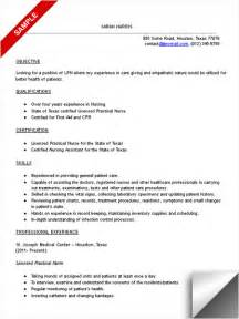 lpn resume with no experience learn how to write a prominent lpn resume