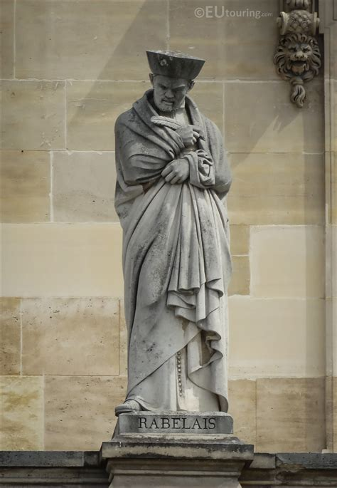 Photos of Francois Rabelais statue at Musee du Louvre ...
