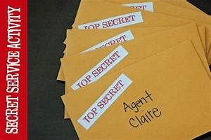 I love this ideas of giving the girls secret service ...