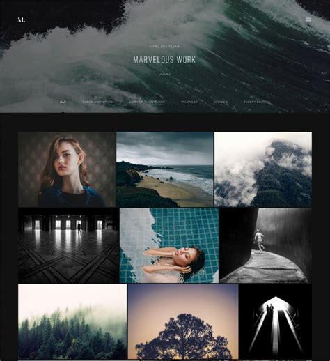 photography wordpress themes templates design