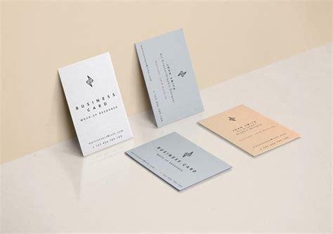 125+ Free Creative Business Card Mockup Psd Templates Business Card Edge Print Cards Printing Doral Fl Plan Sample For Vocational School Jersey Out Template Kl Costco Venture Example