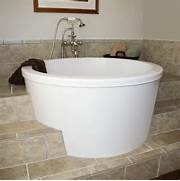 30 X 2 Person Japanese Soaking Tub by 48 Amery Brushed Stainless Steel Soaking Tub Modern Bathtubs By S