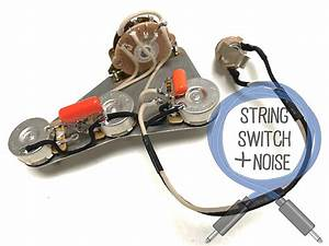 Fender  Stratocaster Wiring Harness  Treble Bleed  No