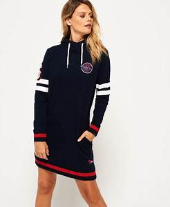 superdry cullen sweat dress women39s dresses With robe sweat superdry
