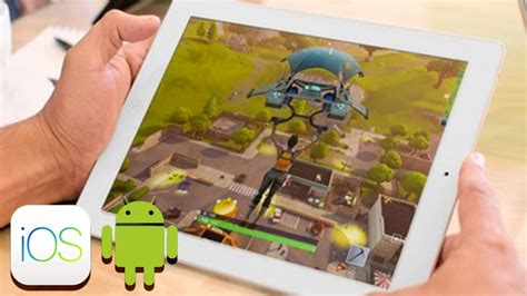 fortnite battle royale sur mobile ios  android ft
