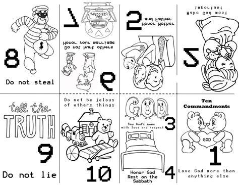 preschool 10 commandments by cori 10 | 10 commandmentsminibook