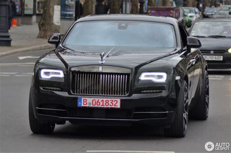 Rolls Royce Wraith Black Badge 28 February 2017 Autogespot
