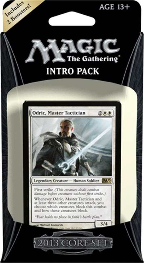 mtg intro decks magic 2013 intro pack decklists daily mtg magic the