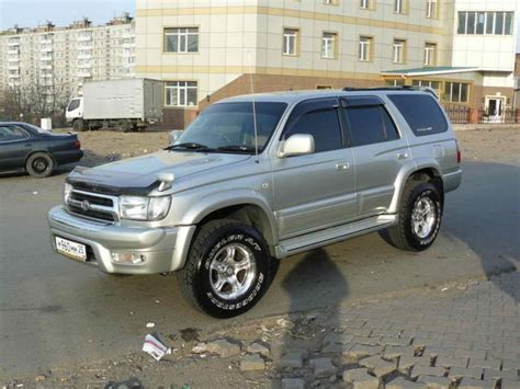 toyota surf car 2000 toyota hilux surf pictures