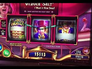 Big Win!!! Willy Wonka Slot Machine Bonus - Veruca Salt ...