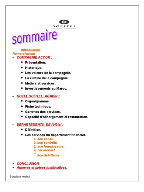 rapport de stage 3eme cuisine exemple de rapport de stage fiduciaire pdf document