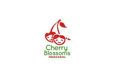 cherry blossoms preschool logo design logo cowboy 375   cherryblossomspreschool1 1