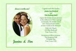 sample wedding invitation cards templates 6 best With wedding invitation cards jpg