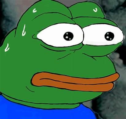 Frog Pepe Sweaty Meme Cartoon Amphibian Know