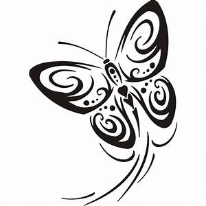 Dessin Facile Papillon : dessin tatouage tribal papillon ~ Melissatoandfro.com Idées de Décoration