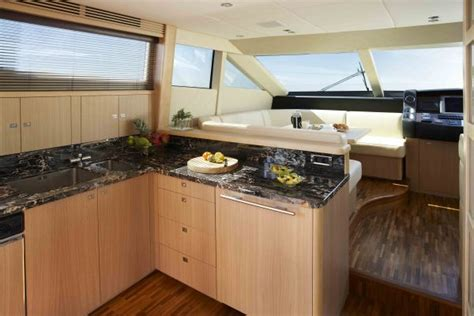 yacht kitchen design house interior design luxury yacht princess 95my 1201