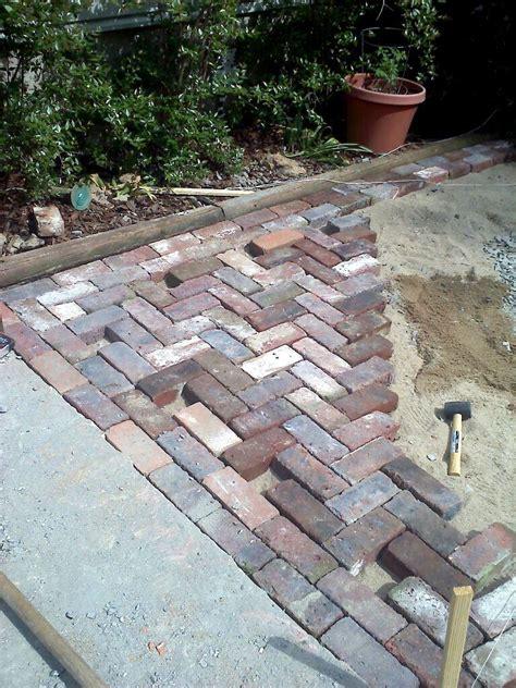 brick patio 187 antique brick patio done