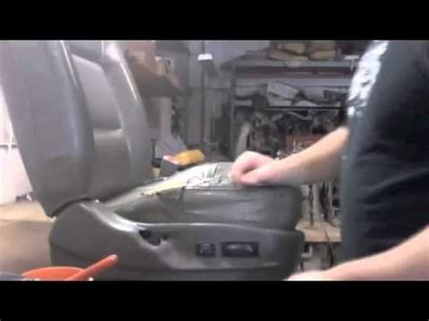 Change Car Upholstery by How To Do Auto Upholstery Seat Repair Because I Want To