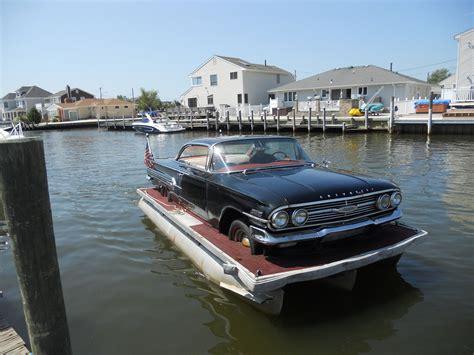 Car Boat Usa by Harrington 1960 Chevrolet Impala 2dr Pontoon 1960 For Sale