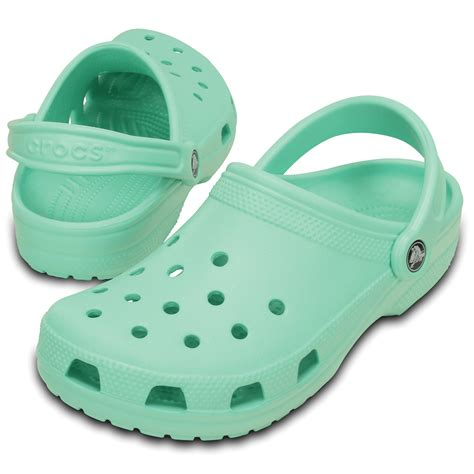 crocs classic crocs classic shoe new mint original slip on shoe crocs