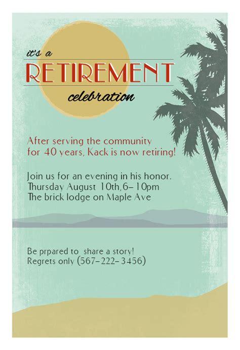 retirement celebration retirement farewell party