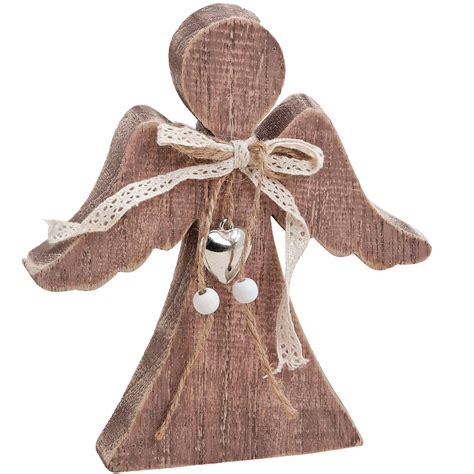 weihnachtsdeko mit holz holz weihnachtsdeko engel mit schleife holzfigur 15x2x18 cm winterdeko kaufen matches21