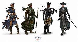 Assassin's Creed III Multiplayer Characters | computer ...
