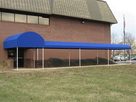 barrel style walkway cover clipper magazine offices kreiders canvas service