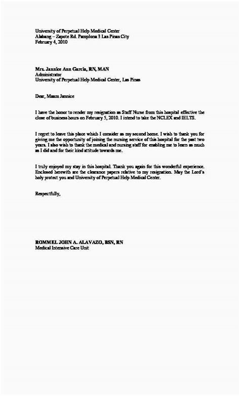 Free Download 59 Letter Of Resignation Letter Photo | Free Template Example