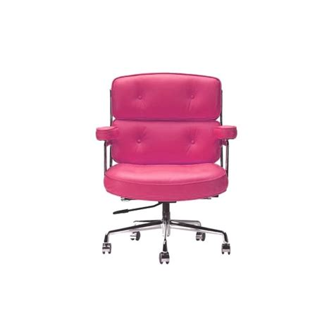 pink soft pad executive office chair