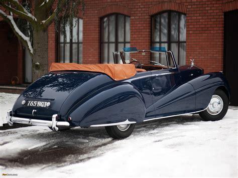 roll royce car 1950 rolls royce silver dawn drophead coupe by park ward 1950