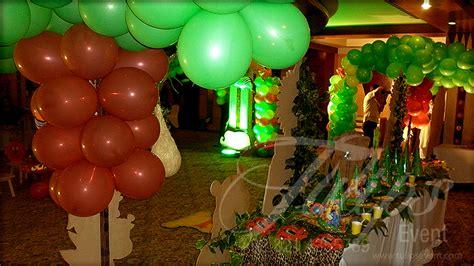 tulipsevent  jungle safari zoo themed birthday party