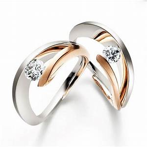 rose gold diamond ring gold diamond rings and unusual With unorthodox wedding rings