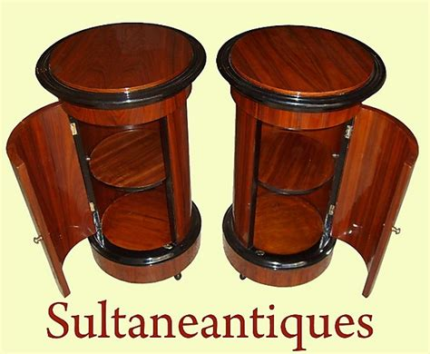unique furniture antiques for sale unique pair biedermeier style mahogany barrel commode