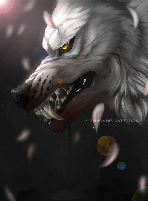 white wolf warrior by andiliion on deviantart