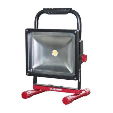 led work light home depot 800 lumen rechargeable led work light