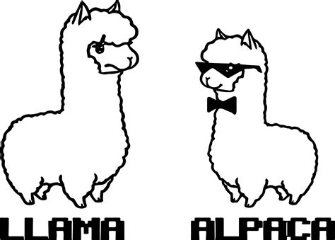 cute llama coloring pages  coloring  kids