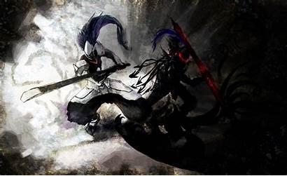 Fate Zero Berserker Blazblue Hakumen Wallpapers Background