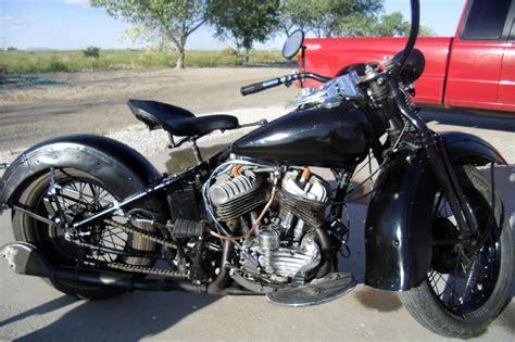 1942 Harley-davidson Wl Motorcycle
