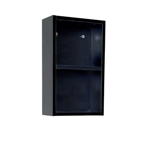 bathroom linen side cabinet fresca black bathroom linen side cabinet w 2 open storage