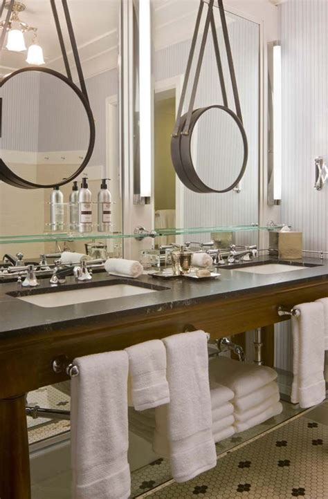 Hang Bathroom Mirror by Hanging A Mirror Another Mirror Decor To Adore