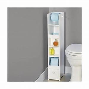 Meuble De Rangement Wc : meuble papier toilette ~ Teatrodelosmanantiales.com Idées de Décoration
